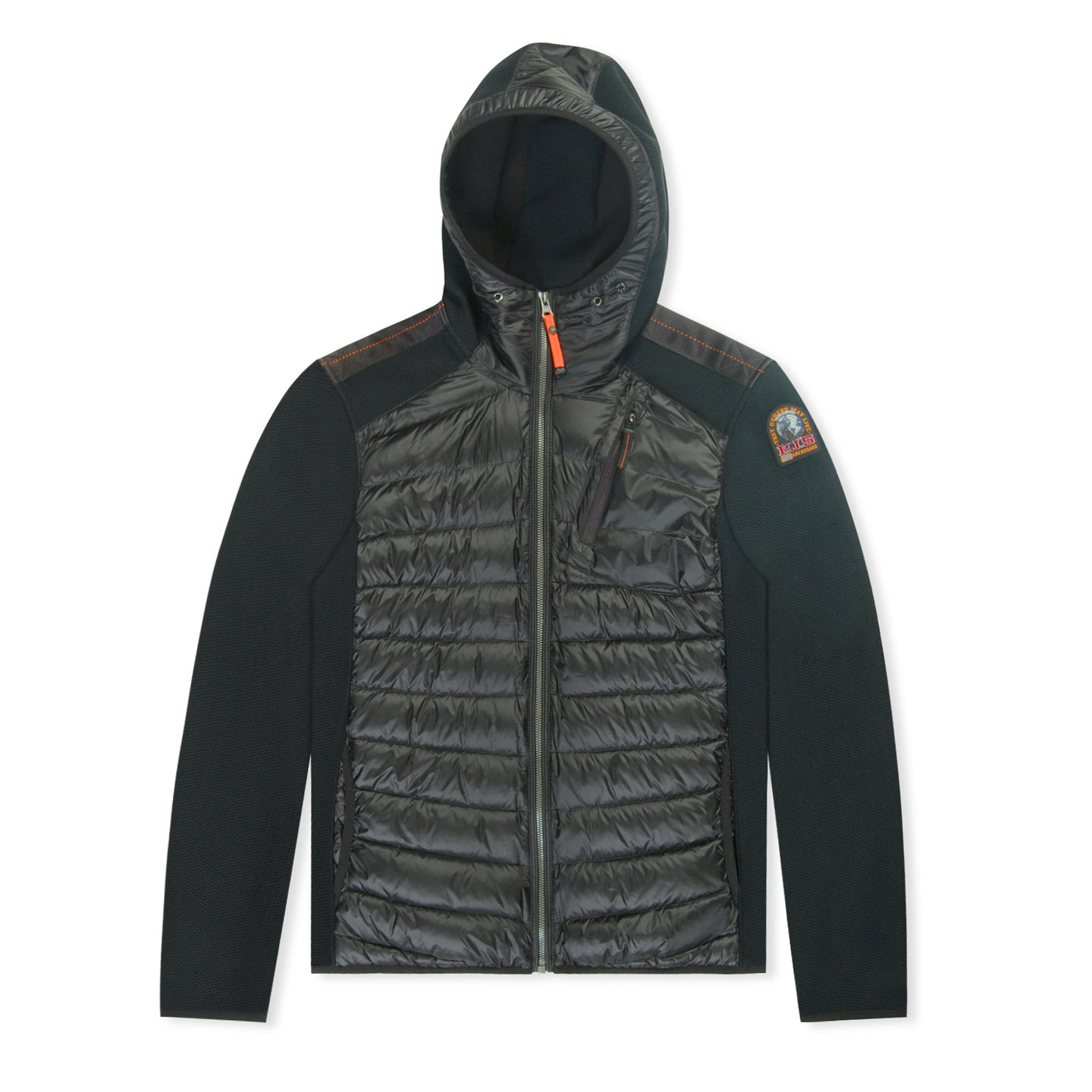 Black Parajumpers Nolan Quilted Jacket