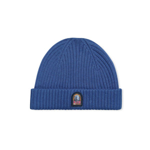 Indigo Parajumpers Logo Ribbed Hat