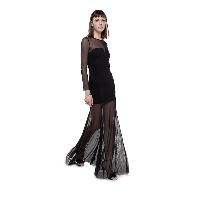 WMN Black Patrizia Pepe Maxi Dress