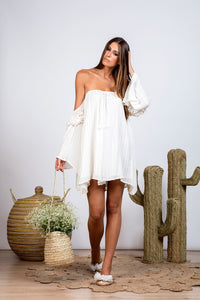 White Sundress Venus Precieuse Dress