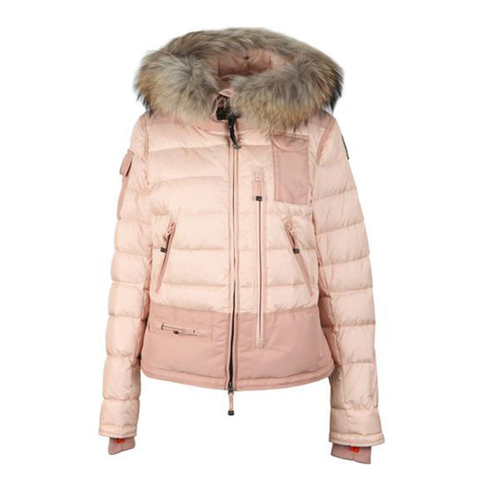 WMN Powder Pink Parajumpers Ski Master Coat
