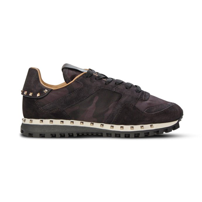 WMN Black Valentino Studded Rockrunners