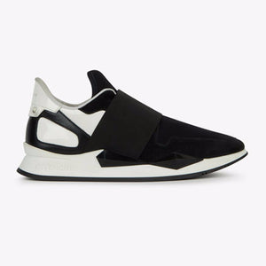 WMN Black Givenchy Elastic Runners