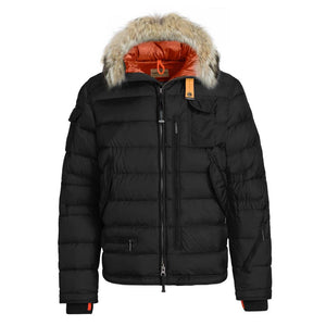 Black Parajumpers Ski Master Coat
