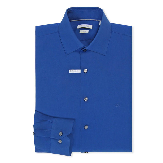 Royal Blue Cannes Fitted Shirt