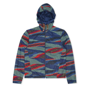 Reversible Nylon Windbreaker