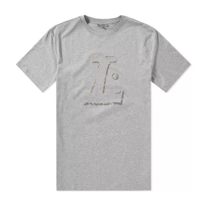 Grey Lanvin L Printed T-Shirt