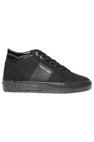 Black Android Homme Propulsion Mid Carbon Trainers