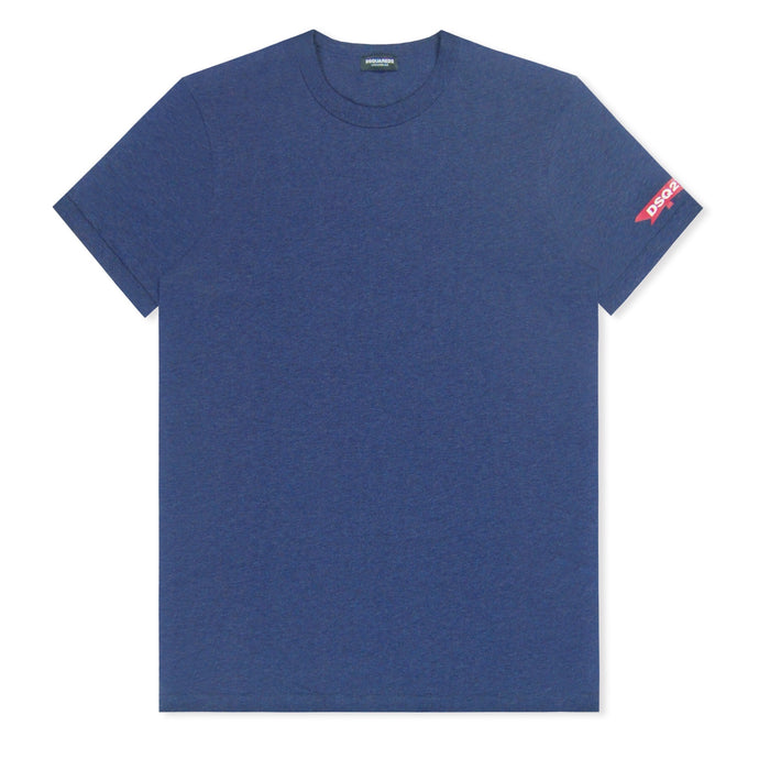 Navy Dsquared2 Maple Sleeve T-Shirt
