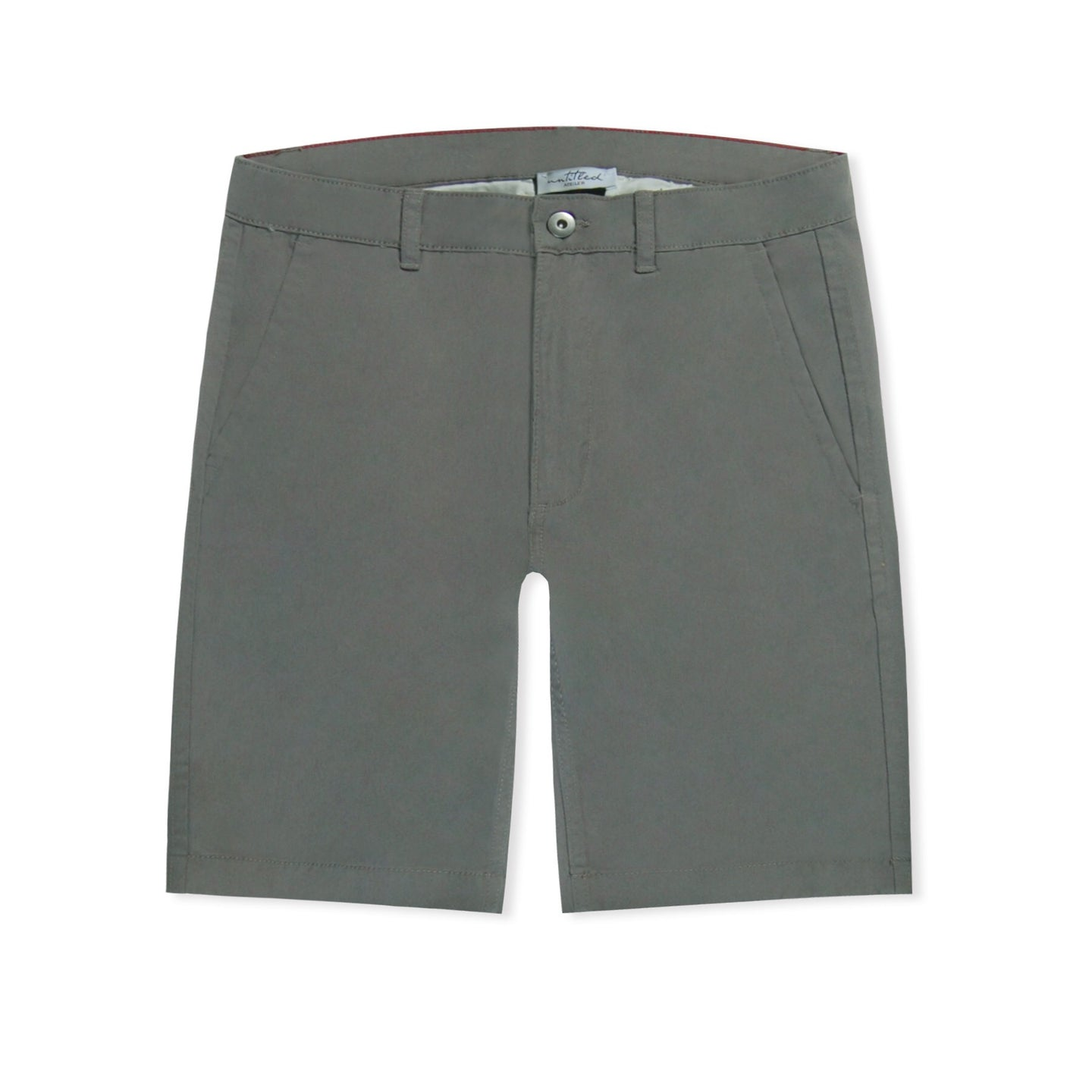 Grey Untitled Atelier Chino Shorts