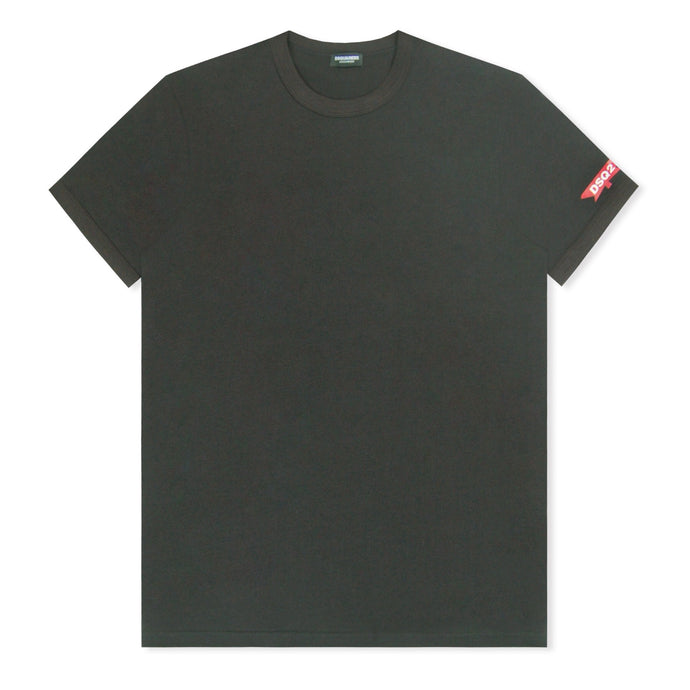 Black Dsquared2 Maple Sleeve T-Shirt