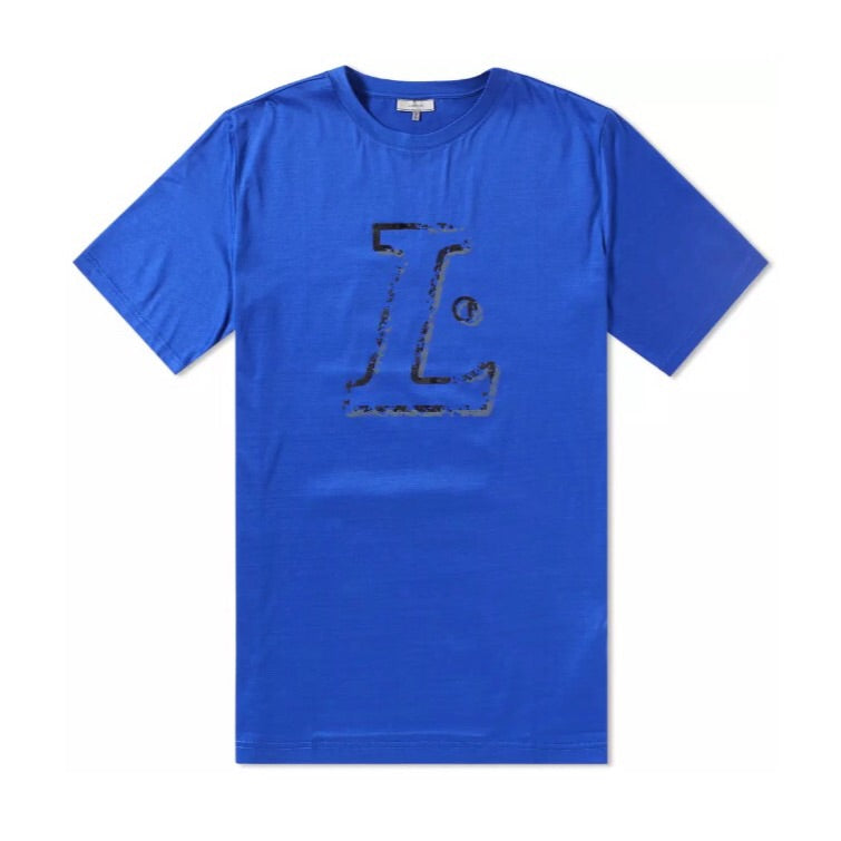 Electric Blue Lanvin L T-Shirt
