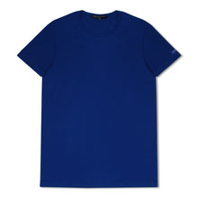 Blue Zegna Basics Plain T-Shirt
