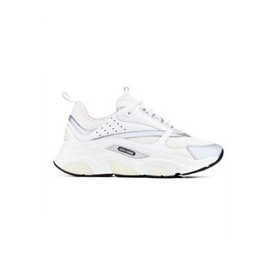 White Dior Reflective B22 Runners
