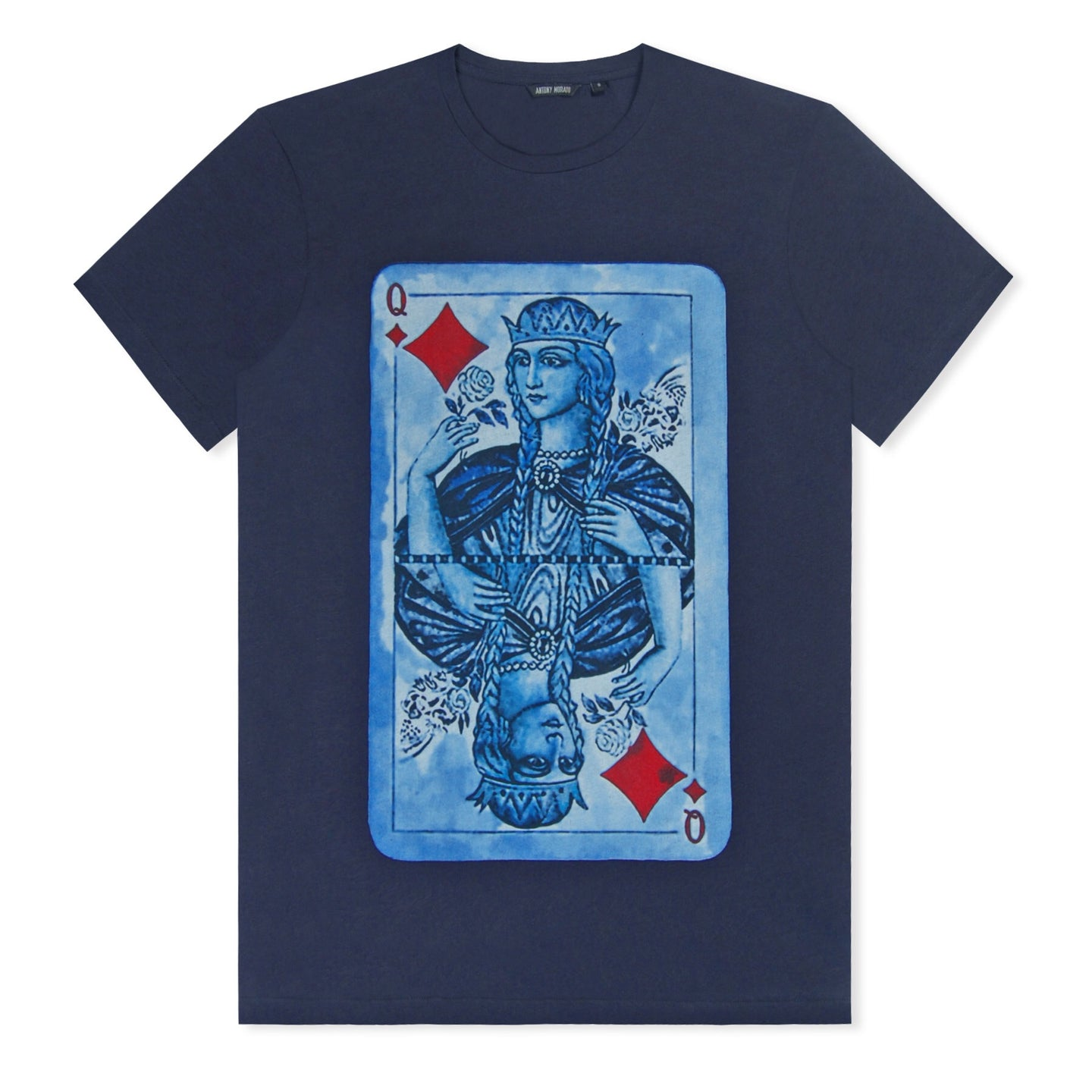 Night Blue Antony Morato Playing Card T-Shirt