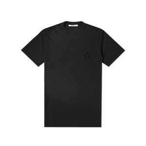 Black Givenchy Star Tonal Chest T-Shirt