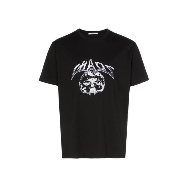 Givenchy Black Chaos Embroided T-Shirt