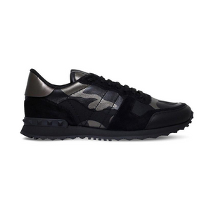 Black Valentino Metallic Rock Runners