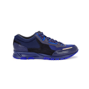 Navy Blue Lanvin Cross Runners