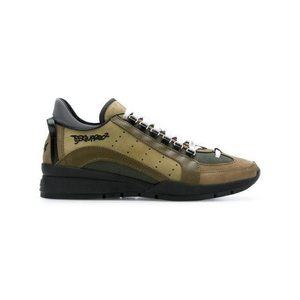 Khaki/Black Dsquared2 551 Sneakers