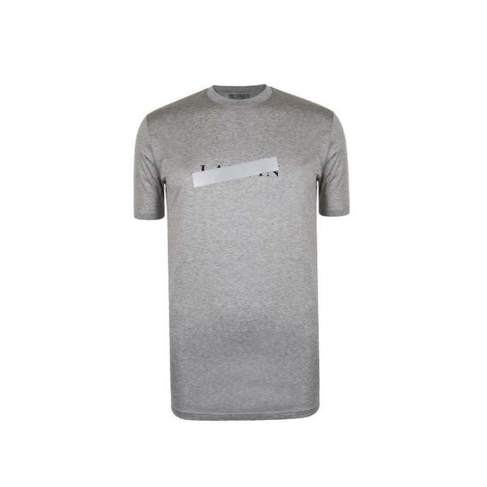 Grey Lanvin Box Logo T-Shirt