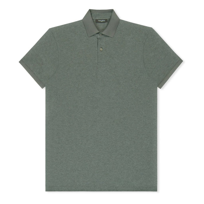 Charcoal Refined Pique Polo