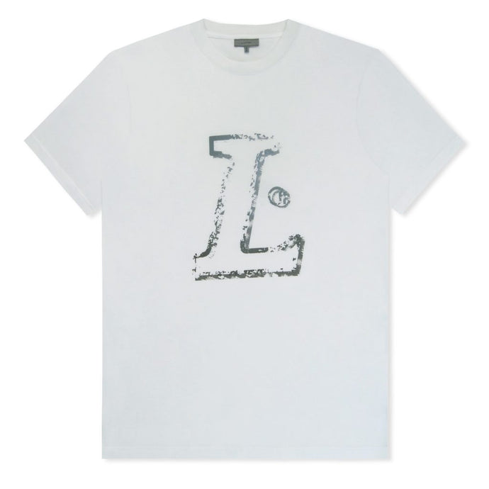 White L Logo T-Shirt