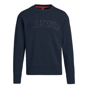 Navy Parajumpers Caleb Crew Neck Sweatshirt