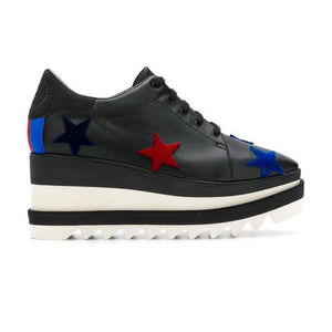 WMN Stella McCartney Elyse Sneakers Black Velvet Stars