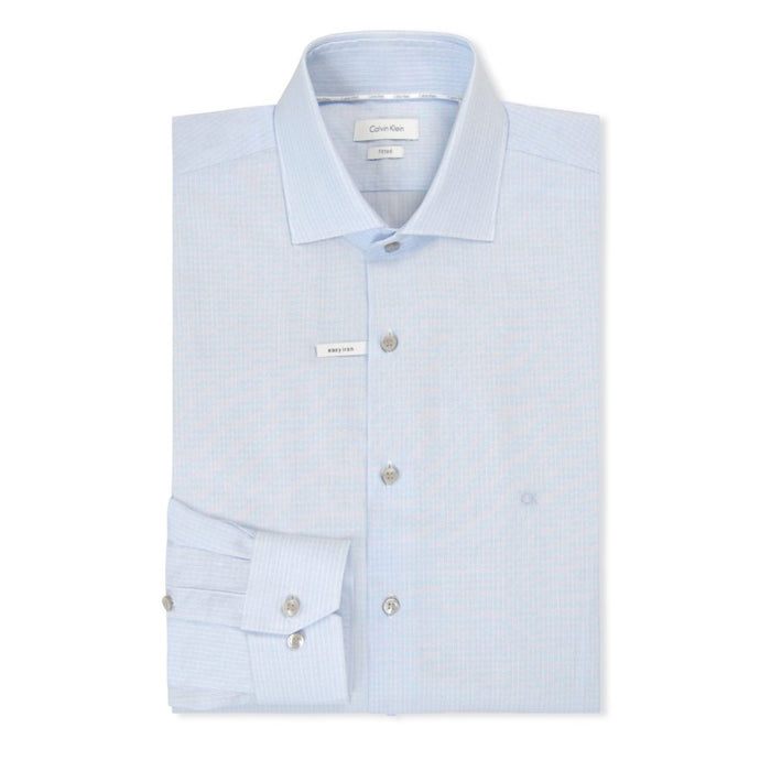 Light Blue Rome Fitted Shirt