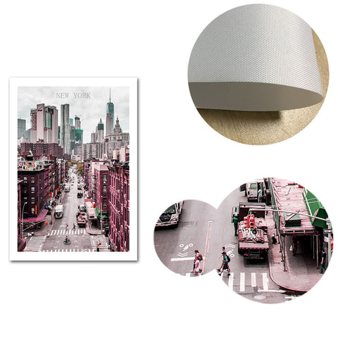 New York Canvas Poster