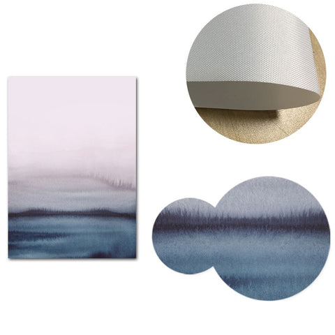 Modern Abstract Landscape Canvas Wall Art