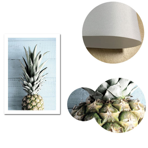 Palms and Pineapple Canvas Wall Art