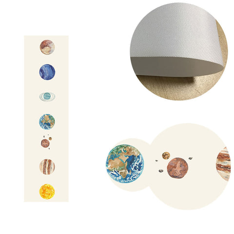 Planets Canvas Wall Art