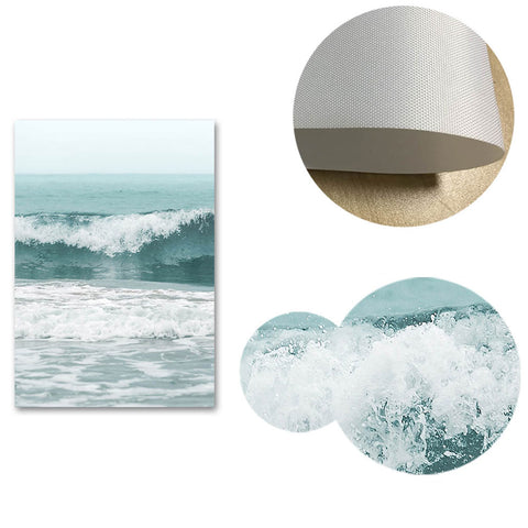 Sea Waves Landscape Canvas Posters