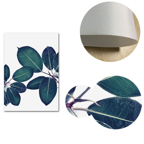 Tropical Leaves Canvas Posters