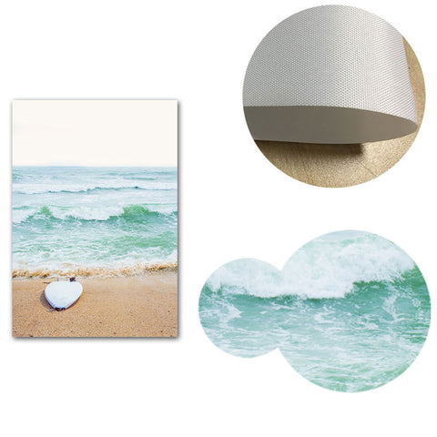 Tropical Summer Canvas Posters