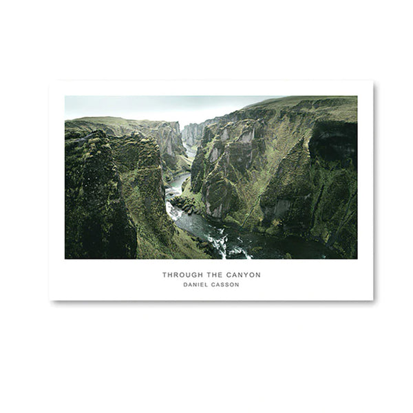 Canyon Autumn Canvas Posters