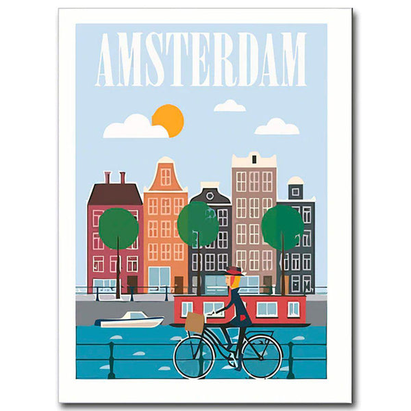 Morning Cities Canvas Posters
