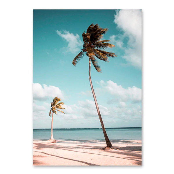 Coastal Town Canvas Posters