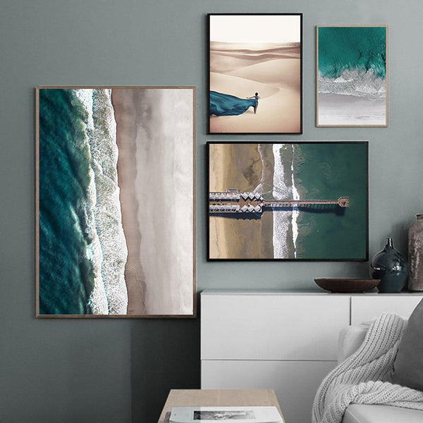 Ocean Beach Canvas Posters