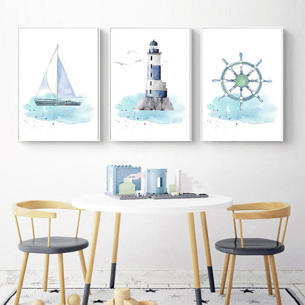 Adventure Awaits Canvas Posters