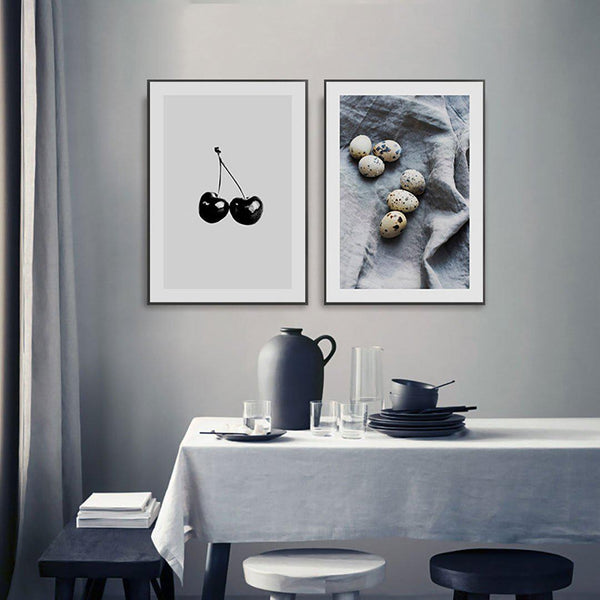 Cherry and Pears Dining Room Canvas Posters
