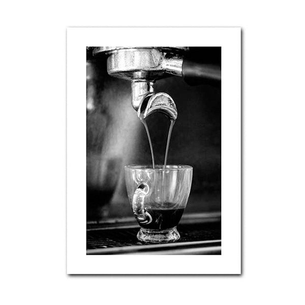 Coffee and Wine Kitchen Canvas Wall Art