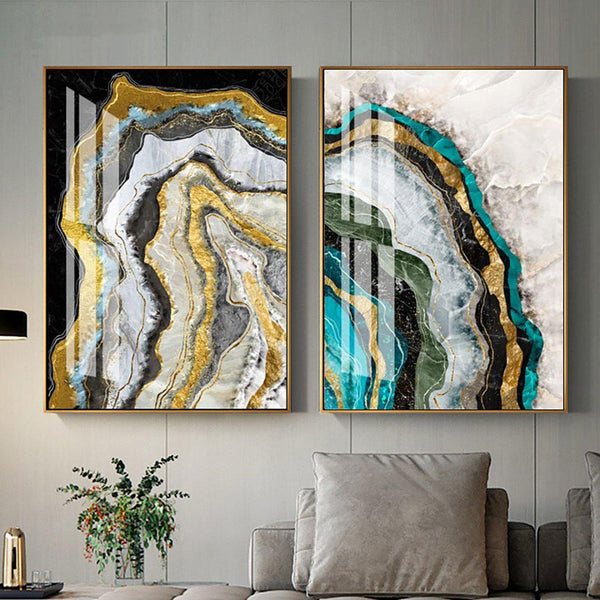 Contemporary Art Abstract Canvas Wall Art