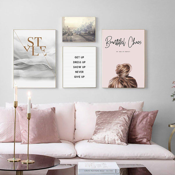 Fashion Quotes Canvas Posters