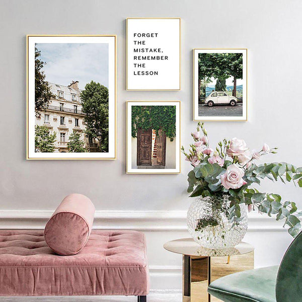 Old House Vintage Canvas Posters