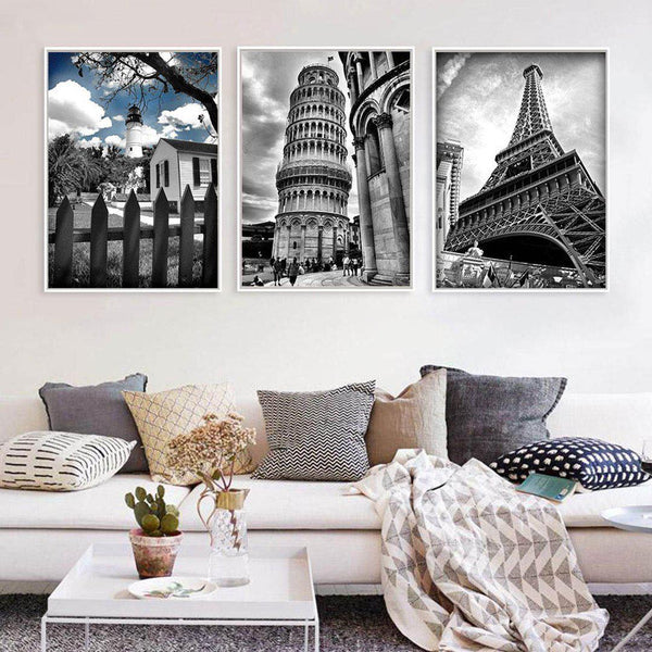 Towers Art Canvas Posters