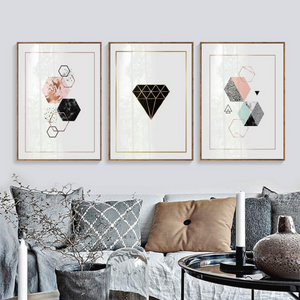 Geometric Diamonds