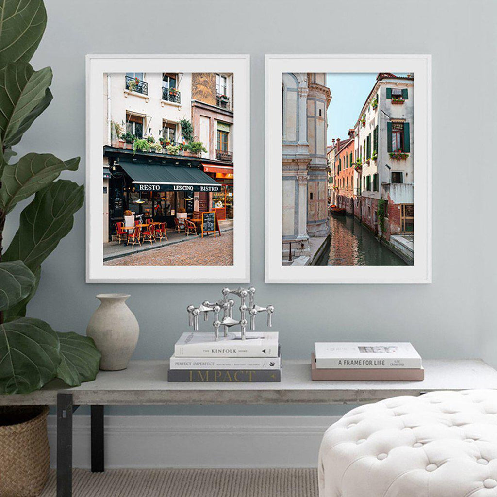 Venice France New York Canvas Posters